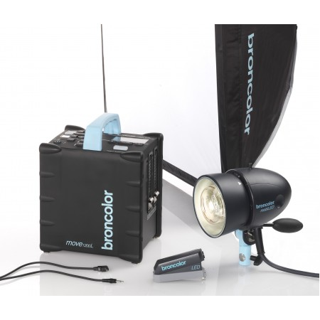 Broncolor Move Outdoor Kit 1 + free MobiLED lamp