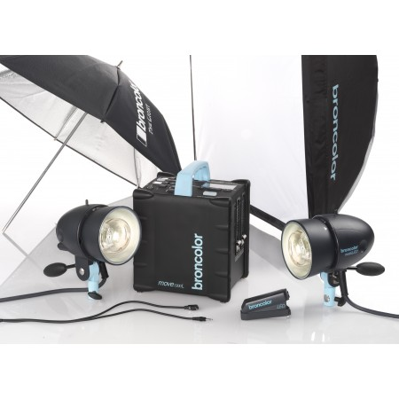 Broncolor Move Outdoor Kit 2 + 2nd free rechargeable battery + 10% discount
