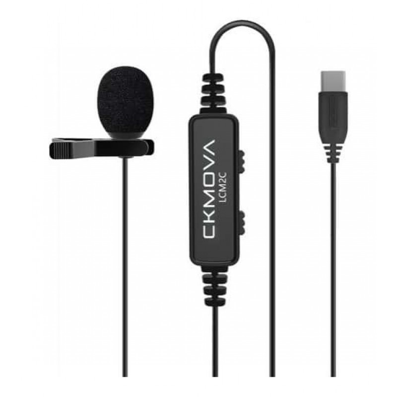 Ckmova LCM2C Lavalier Microphone for USB Type-C Devices