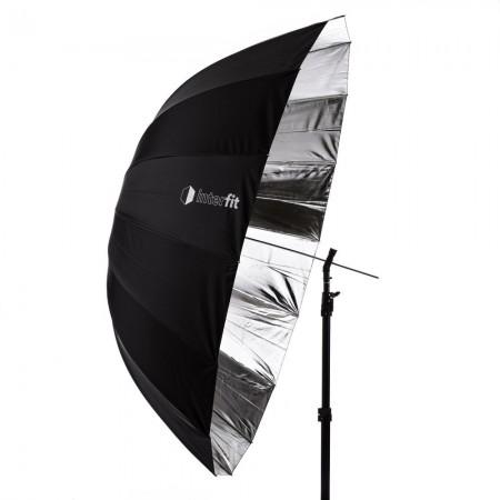 Interfit Silver Parabolic Umbrella - 165cm (65″)