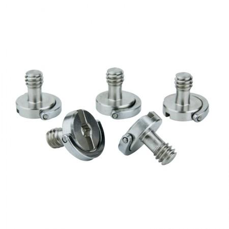 Kupo 1/4'' -20 D-ring screws Adapteris 3/8''