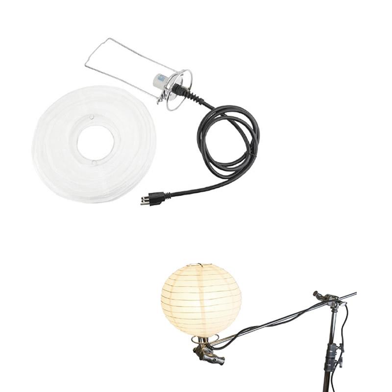 """Kupo KS-121 12"""" China ball bracket with E27 socket"""