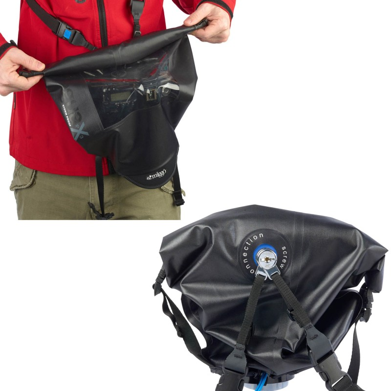 Black Miggo MW AR-SLR BB 15 Agua Stormproof Raincover for Pro DSLR