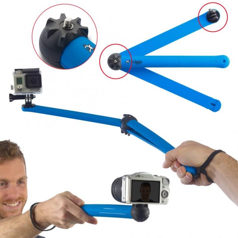 Miggo Splat Flexible Tripod Pro 80 for DSLR / Action cameras