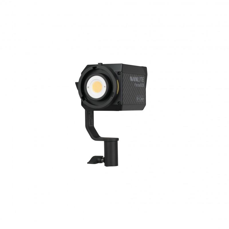 Nanlite Forza 60B Bi-Color LED Spotlight + BH-FZ60 Battery holder + Nanlite Forza 60 Bowens adapter