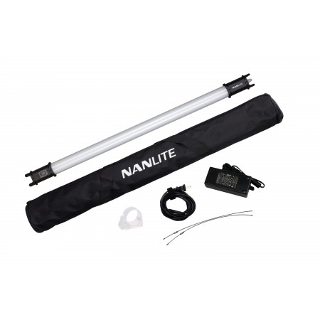 Nanlite PavoTube 15C 1kit + NanLite Barn door with eggcrate for Pavotube 15C