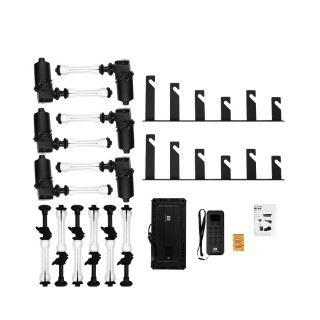 Nanlite Six-axle remote control electric  background support elevator kit BE-6R