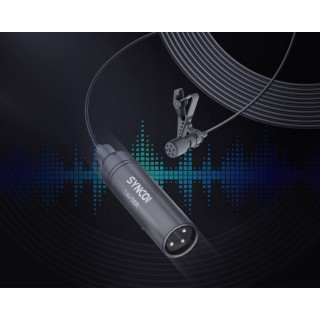 Synco Lav-S6 R Wired Lavalier Microphone (with XLR jack)