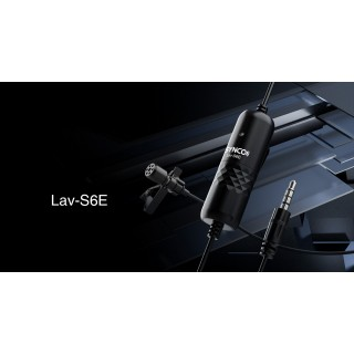 Synco Lav-S6E Wired Lavalier Microphone