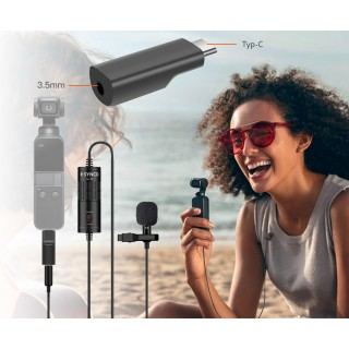 Synco Lav-S6 P Wired Lavalier Microphone for Osmo