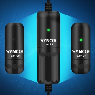 Synco Lav-S8 Wired Lavalier Microphone