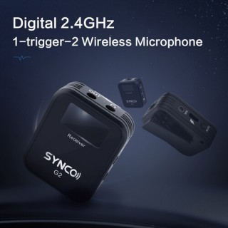Synco WAir-G2 A2 2.4G Wireless Microphone System
