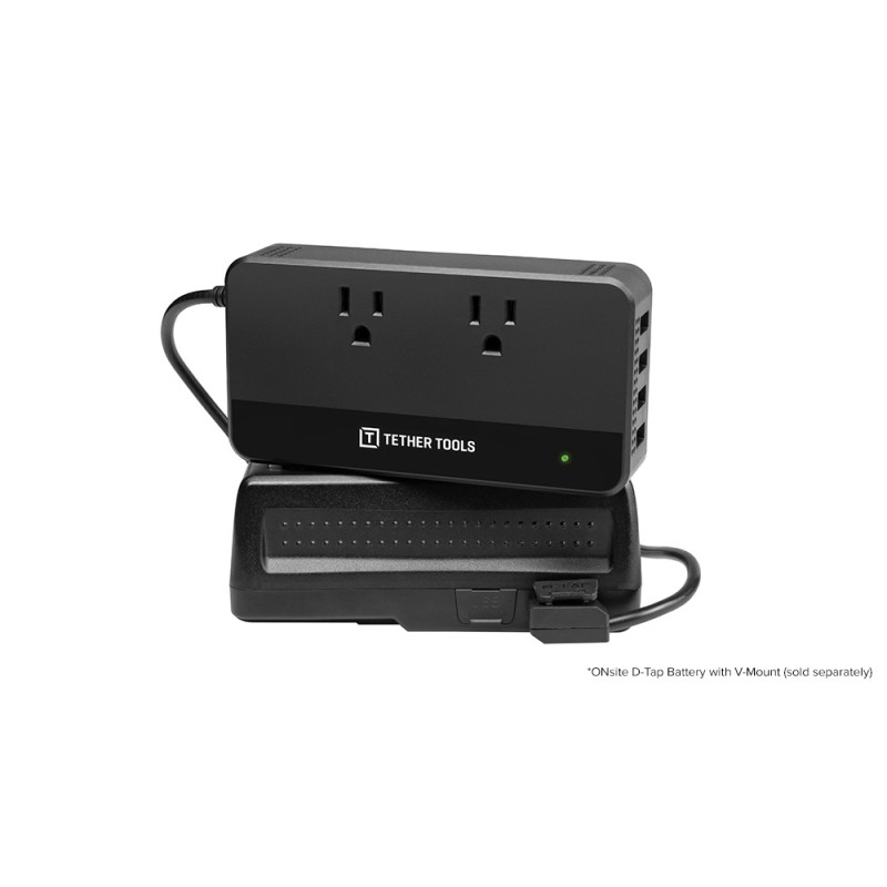 Tether Tools ONsite D-Tap to AC Power Supply