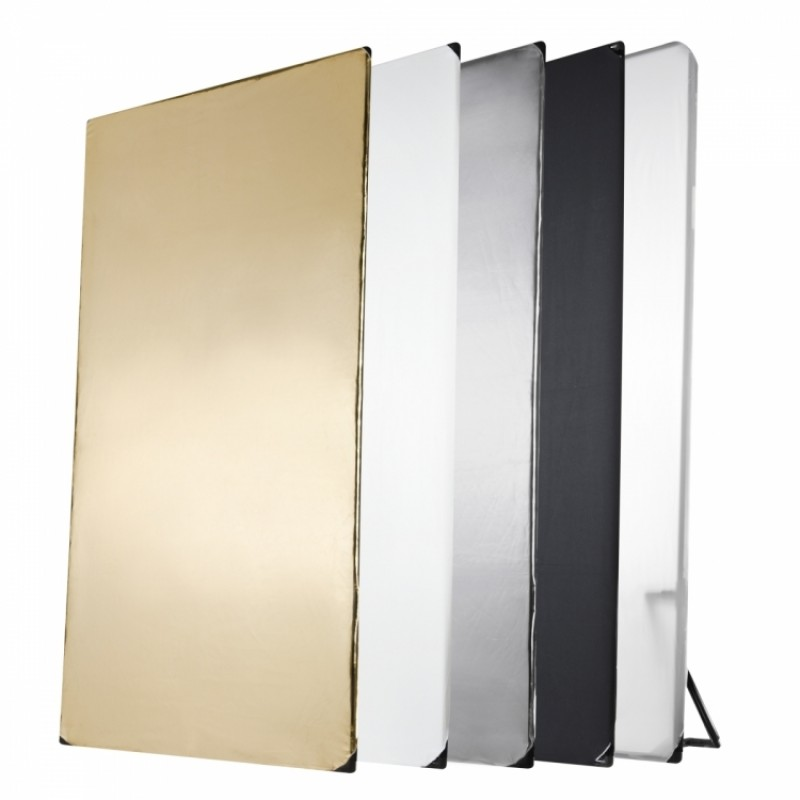 Walimex pro 5in1 Reflector Panel, 1x2m