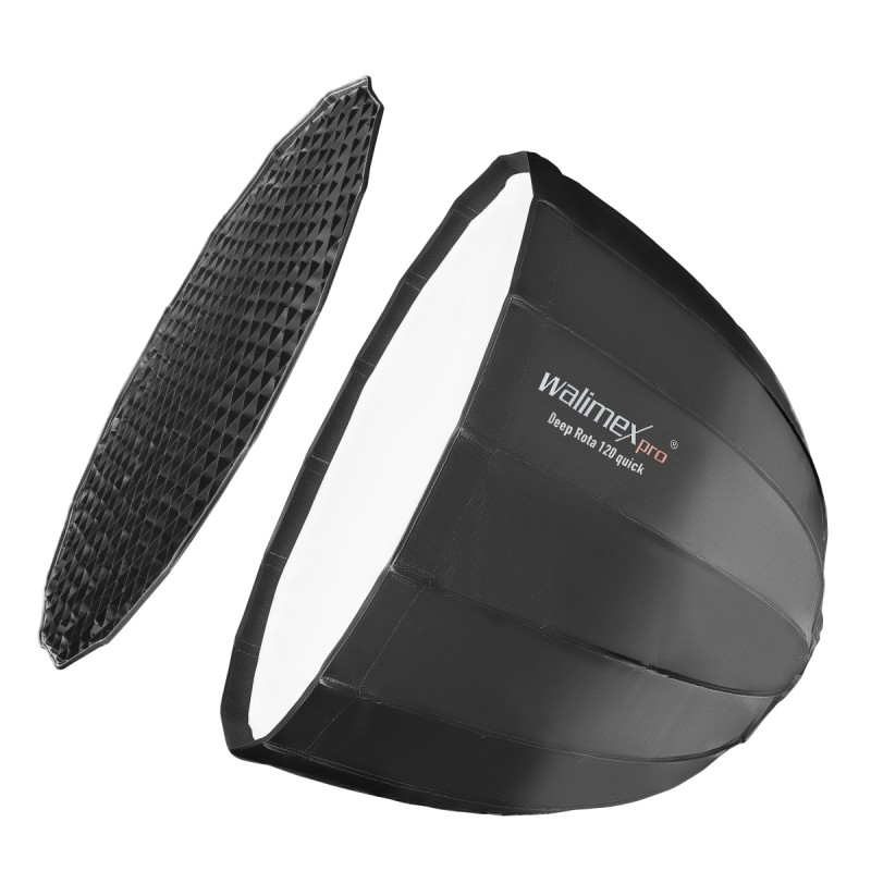 Walimex pro Studio Line Deep Rota Softbox QA120 with Profoto mount
